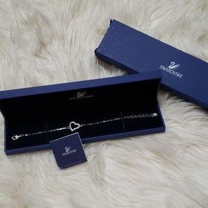 Swarovski Jewelry - 🆕️🎆Swarovski Heart Love Bracelet